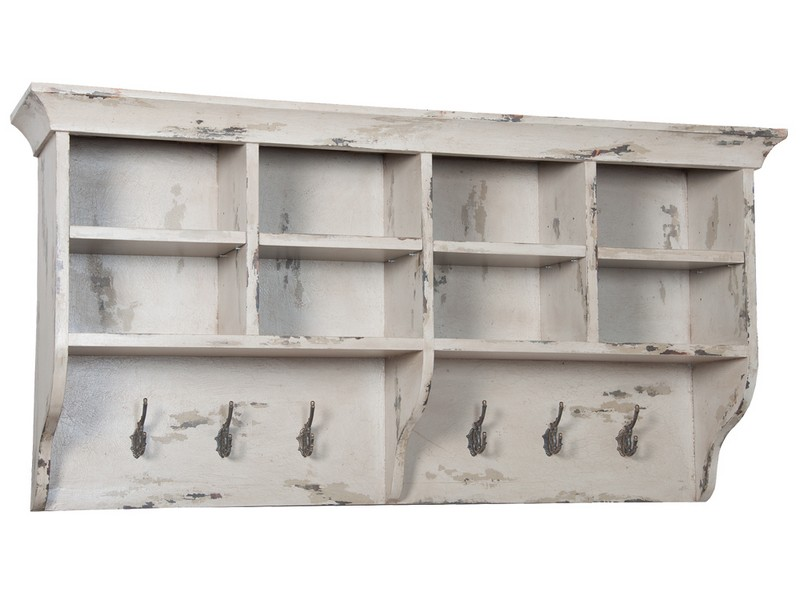 Distressed Wall Shelf