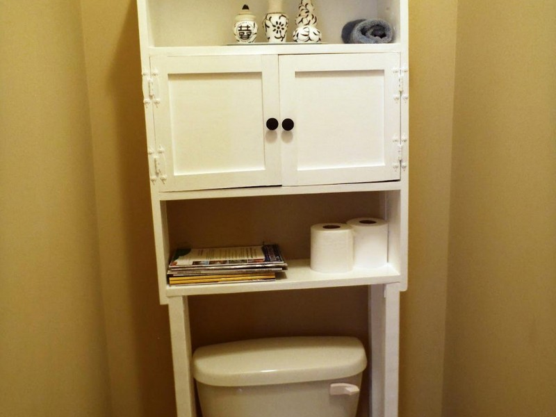Diy Bathroom Shelves Over Toilet
