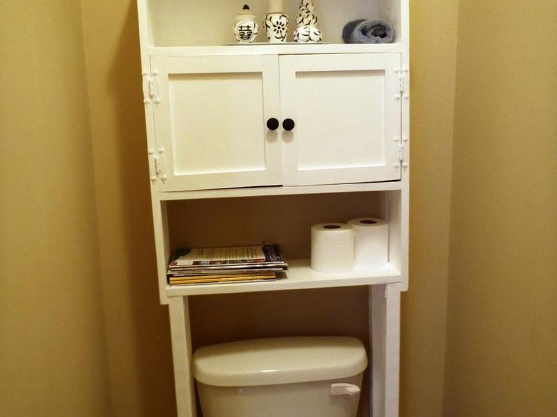 Diy Bathroom Shelves Over Toilet