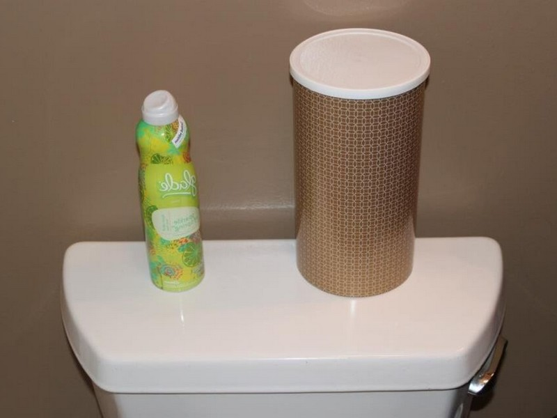Diy Bathroom Tissue Holder