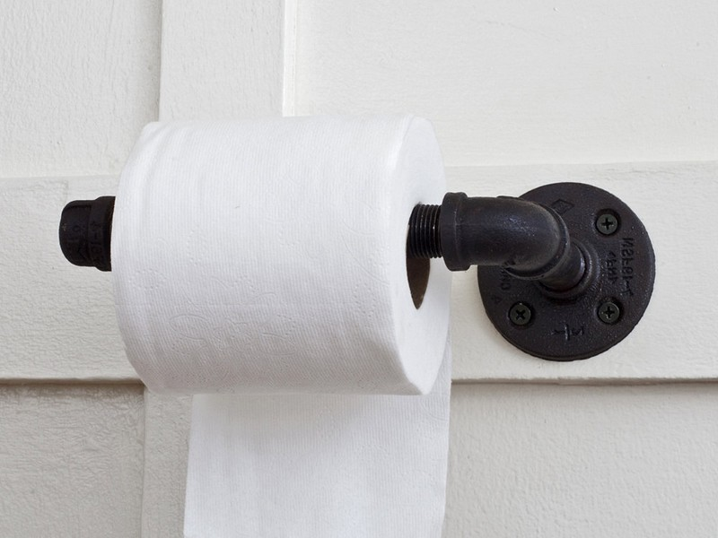 Diy Bathroom Toilet Paper Holder