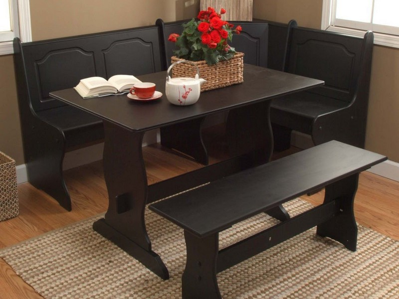 Diy Corner Booth Kitchen Table Home Design Ideas