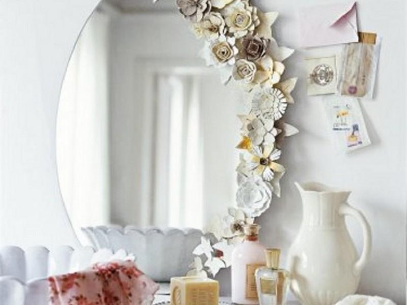 Diy Painted Mirror Frames