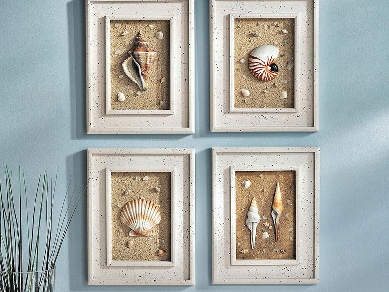 Diy Seashell Bathroom Decor