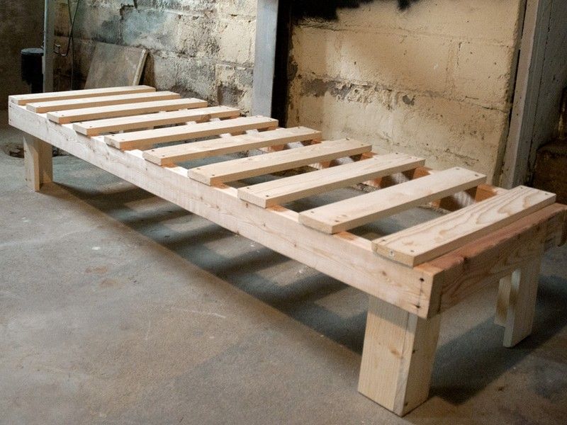 Diy Sturdy Bed Frame