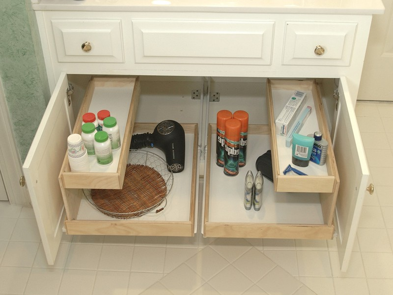 Diy Under Bathroom Sink Storage