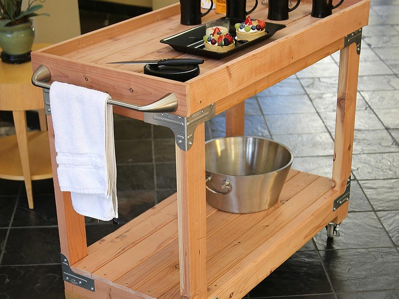 Diy Wooden Bar Cart