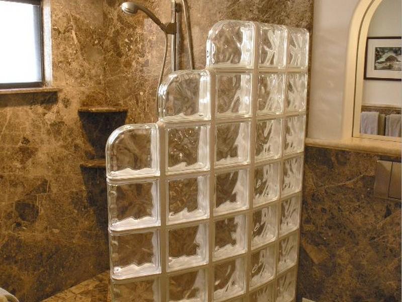 Doorless Walk In Shower Designs For Small Bathrooms