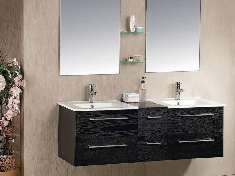 Double Bathroom Sink Tops