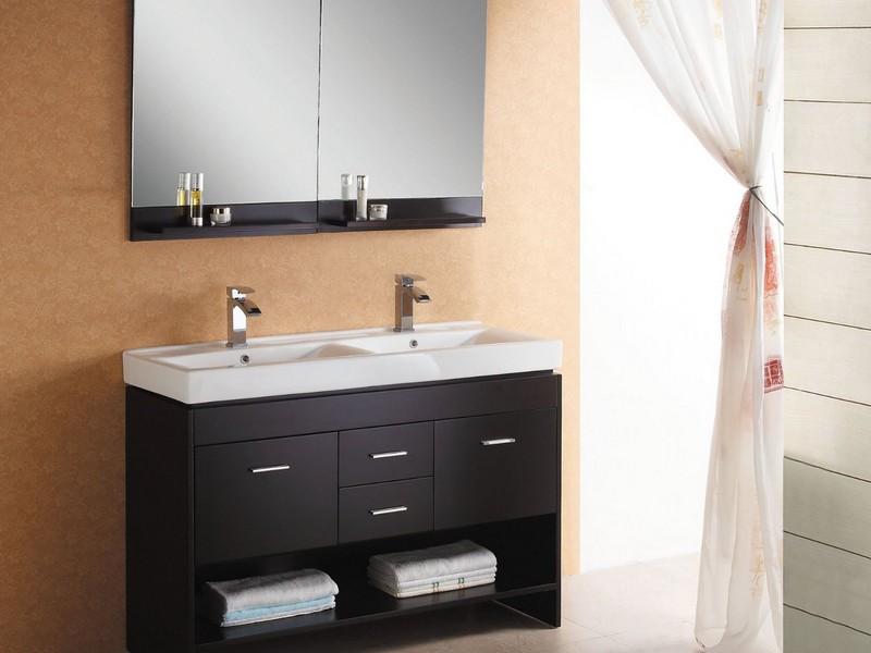 Double Bathroom Sinks Uk