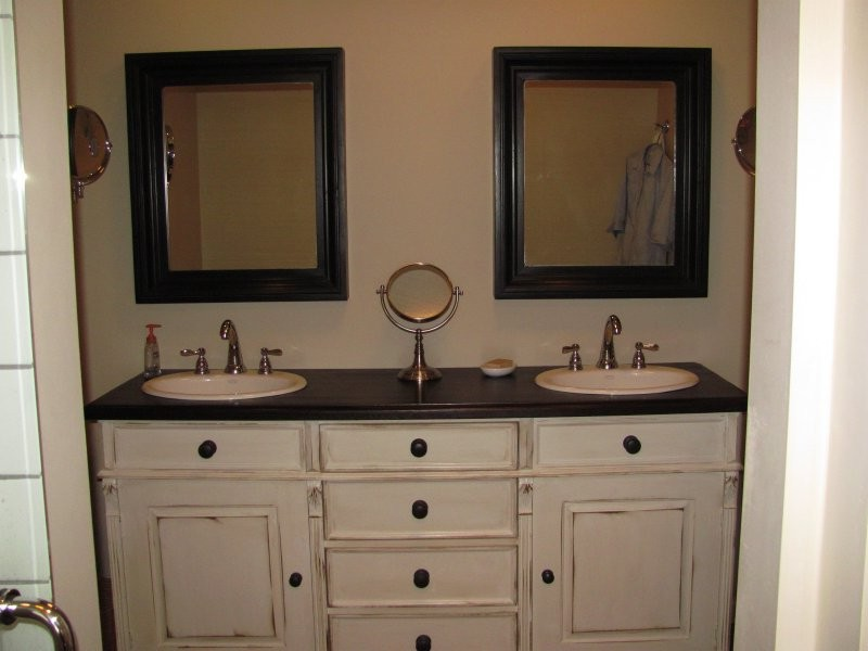 Double Bathroom Vanity Images