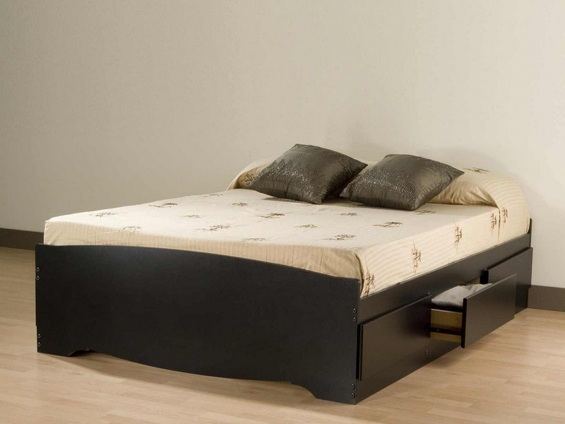 Double Beds With Storage Underneath