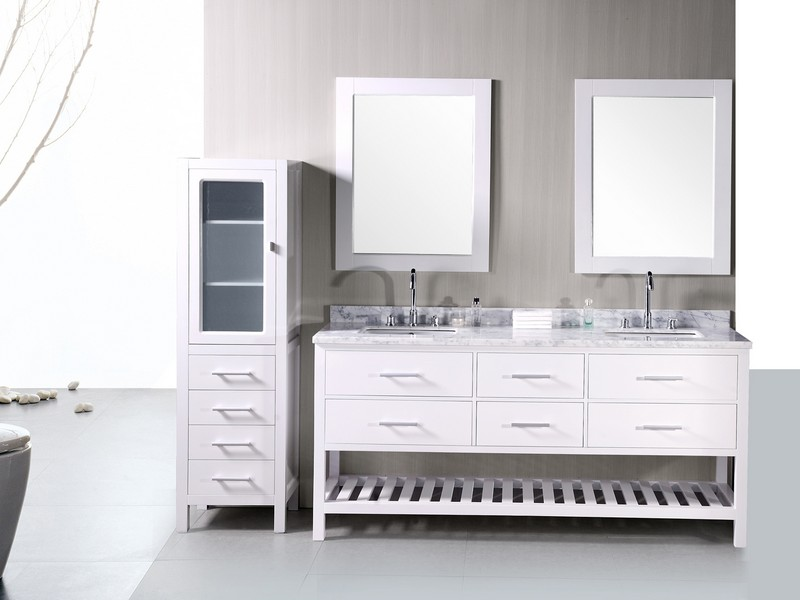 Double Sink Bathroom Vanity 48 Inch