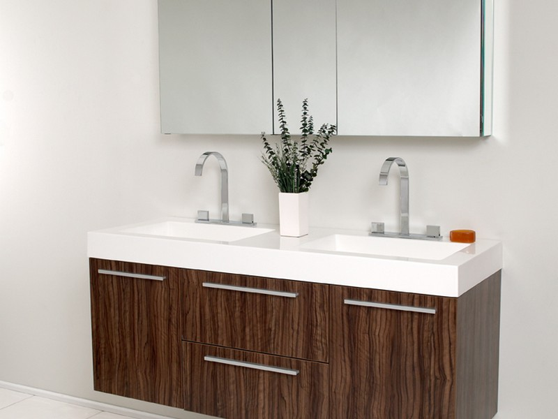 Double Sink Bathroom Vanity With Drawers