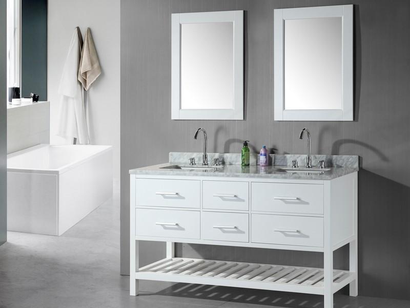 Double Sink Vanities For Bathrooms