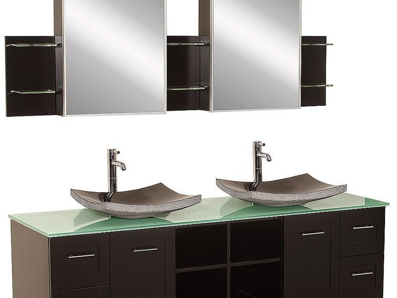 Double Vessel Sink Bathroom Vanities