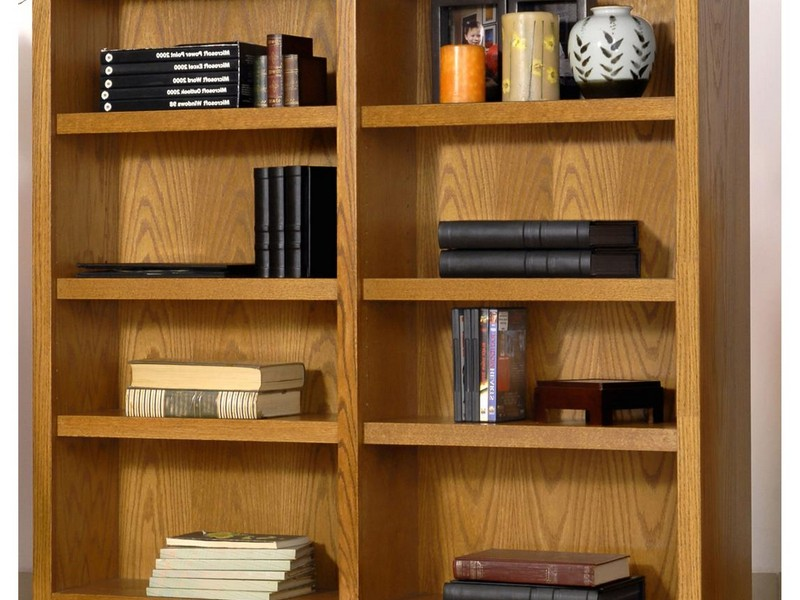 Double Wide Bookcase