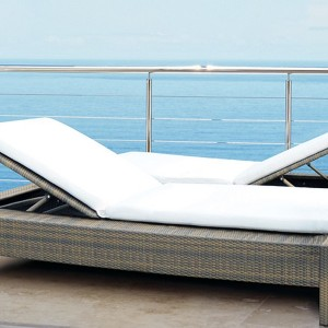 Mezzo Outdoor Double Chaise Lounge