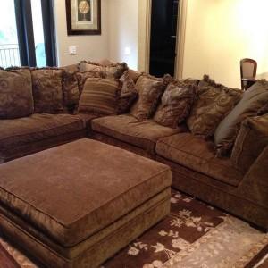 Down Sectional Sofa