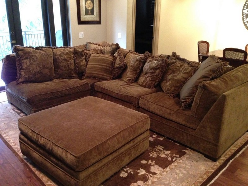 Down Sectional Sofa