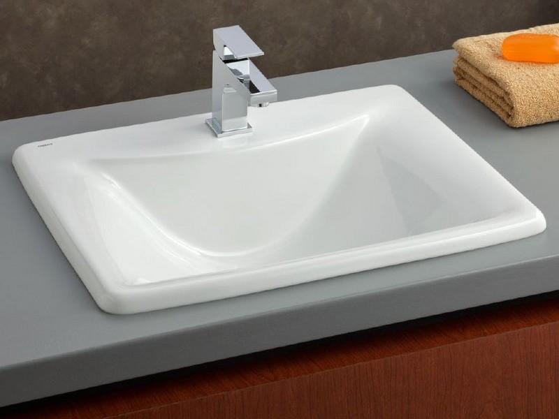 Drop In Bathroom Sinks No Holes