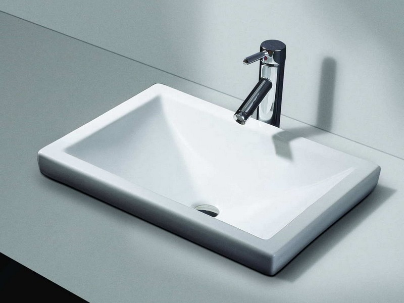 Drop In Bathroom Sinks Rectangular