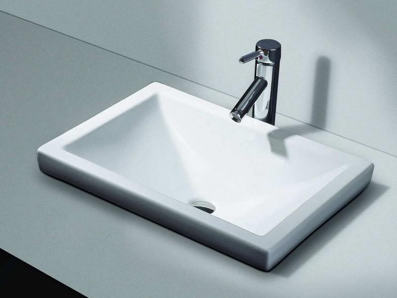 Drop In Bathroom Sinks Rectangular