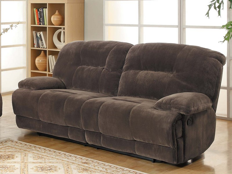 Dual Reclining Sofa With Massage