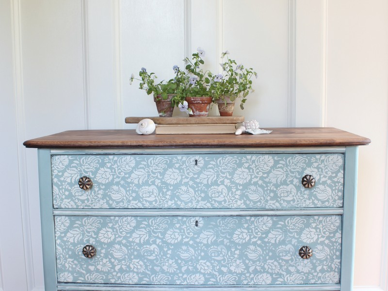 Duck Egg Blue Distressed Furniture