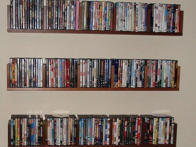 Dvd Wall Shelf