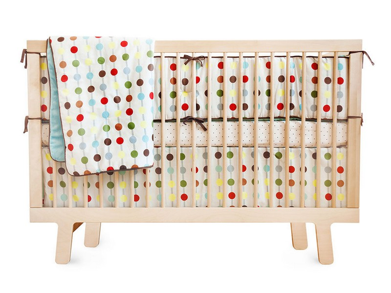 Dwellstudio Baby Bedding Polka Dot