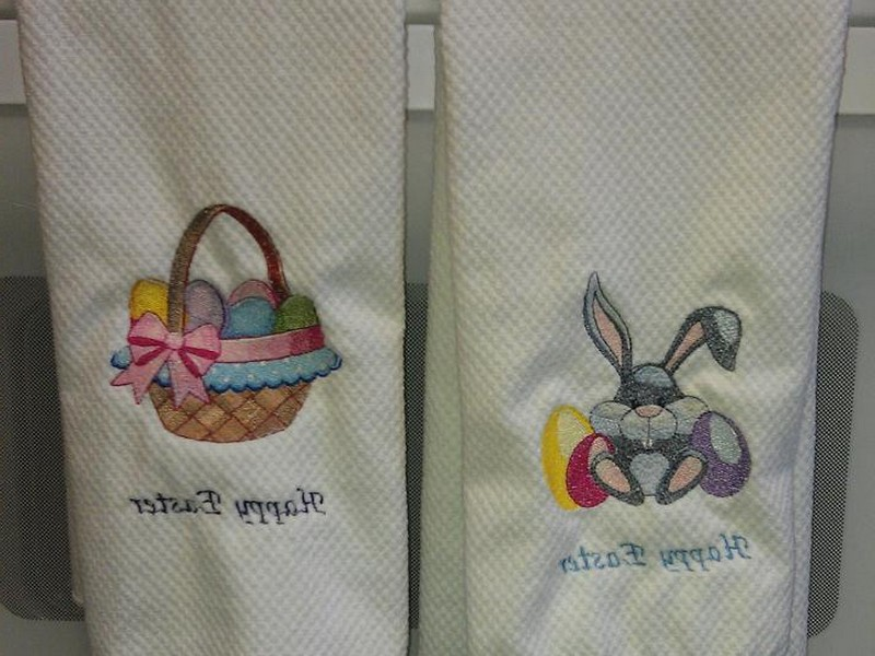 Easter Kitchen Towels