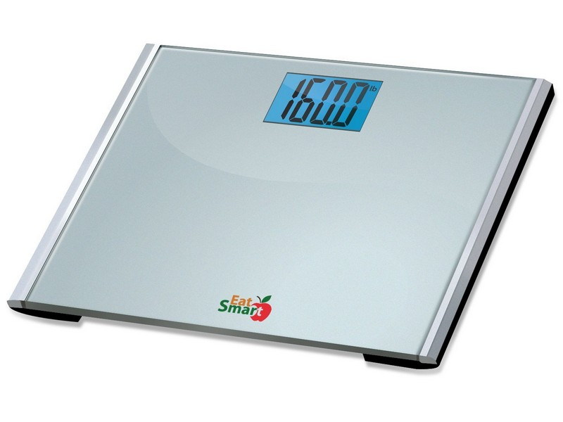 Eatsmart Precision Plus Digital Bathroom Scale With Ultra Wide Platform