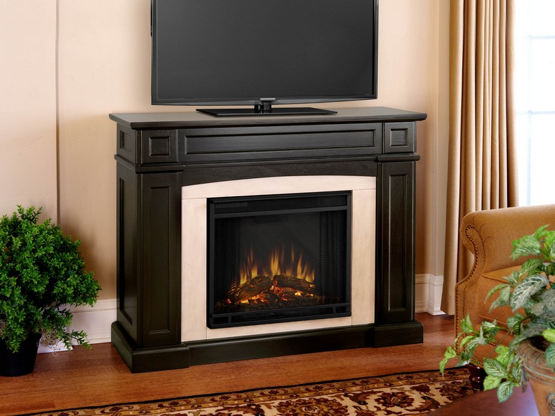 Electric Fireplace Tv Stand With Crystals