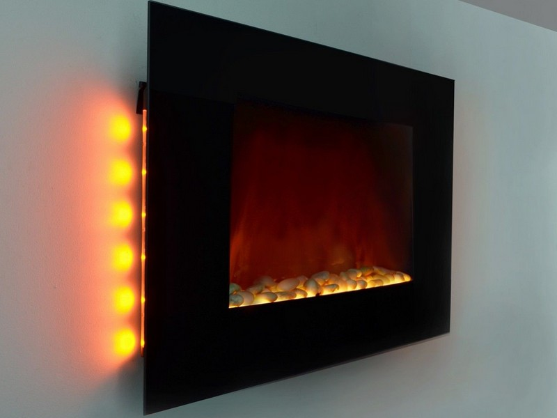 Electric Wall Fireplace Heater