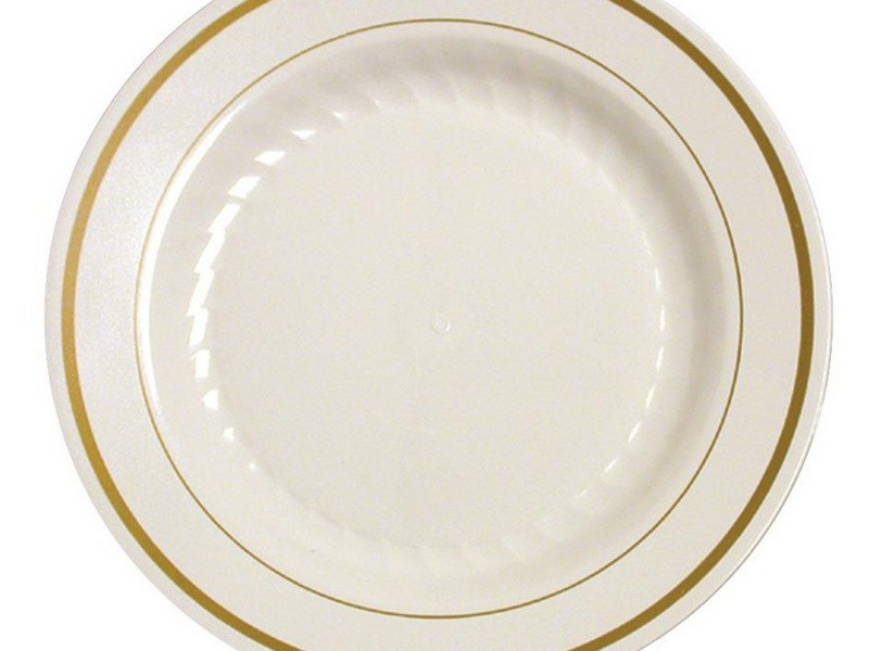 Elegant Disposable Plates