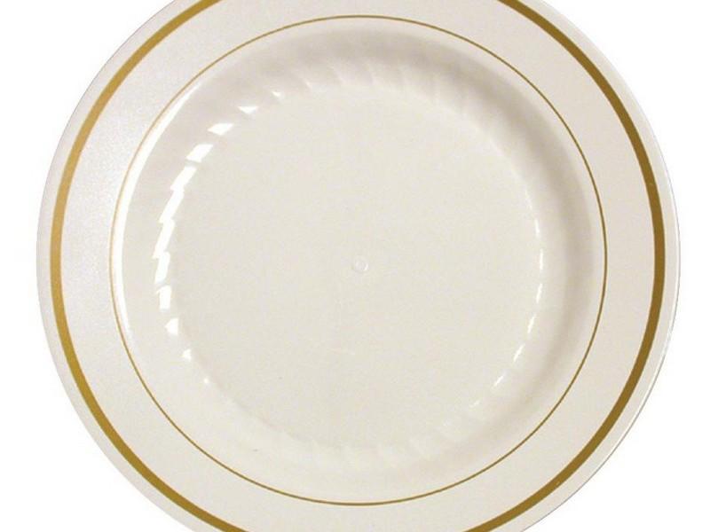Elegant Disposable Plates