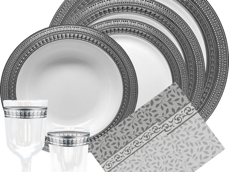 Elegant Paper Plates And Napkins