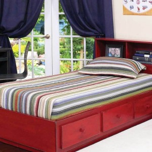 Elise Captain Twin Bed With Trundle