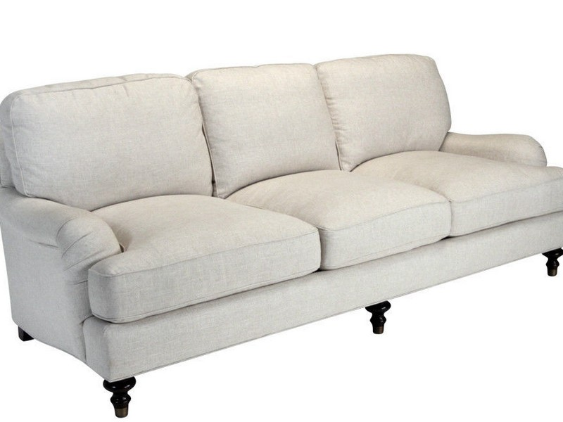 English Roll Arm Sofa With Chaise