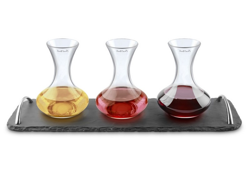 Engraved Wine Decanter Set