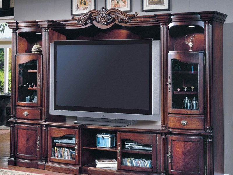 Entertainment Centers For Flat Screen Tvs