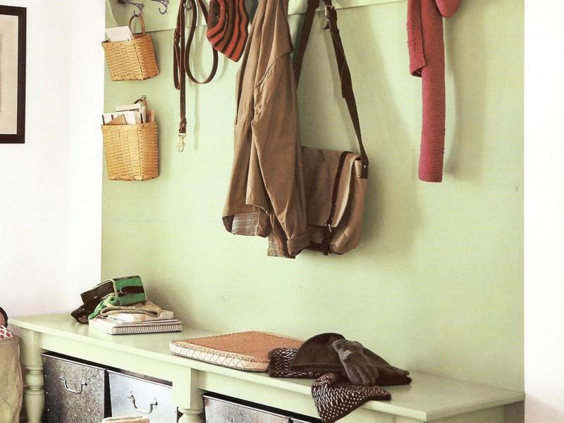 Entryway Coat Hooks