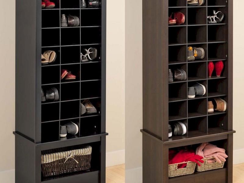 Entryway Storage Cabinet Espresso