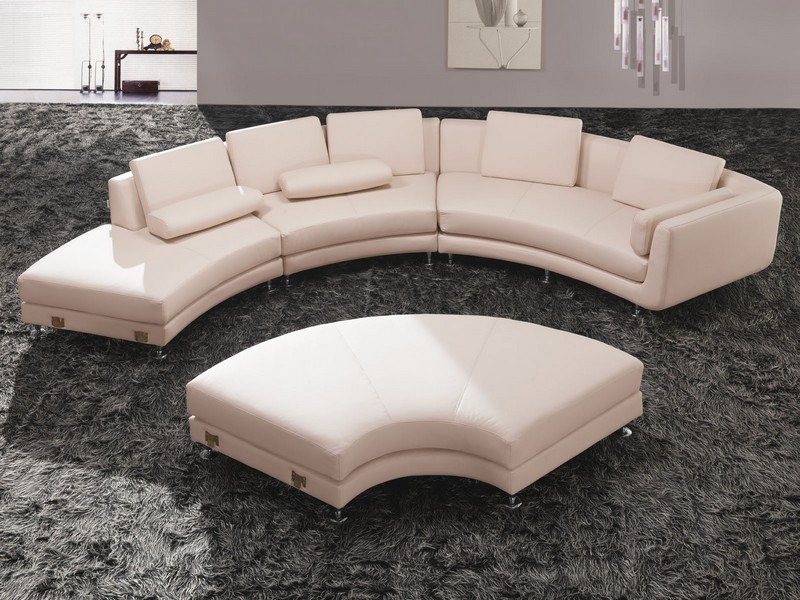 Ethan Allen Leather Sectionals