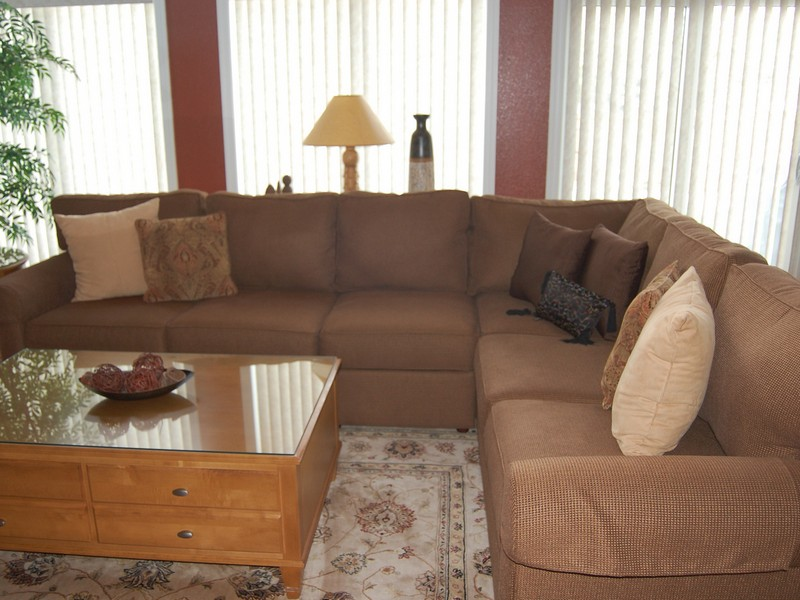 Ethan Allen Sectional Sofas Leather