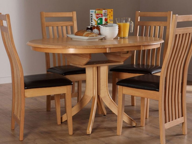 Expandable Dining Table Set