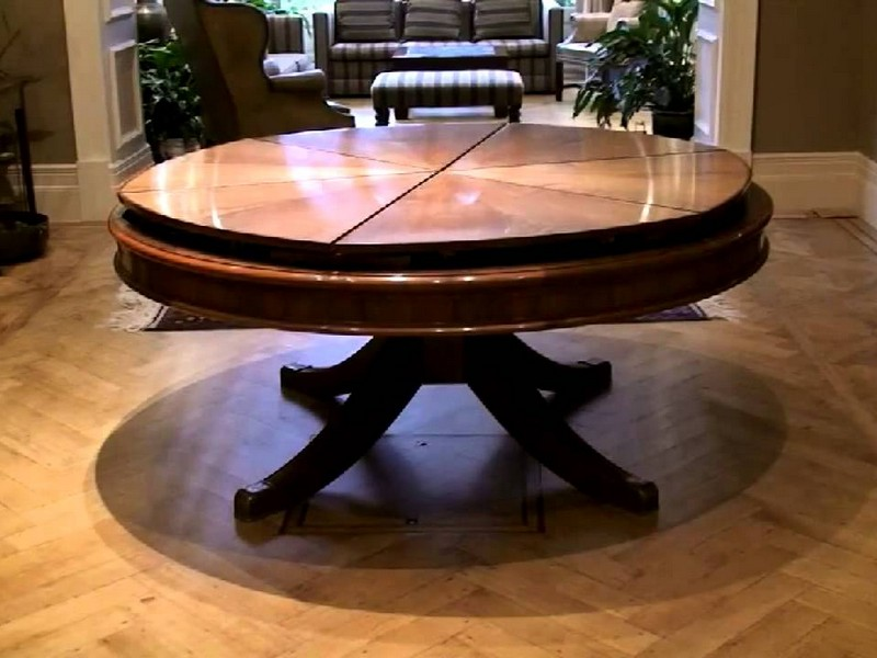 Expanding Round Dining Table Video