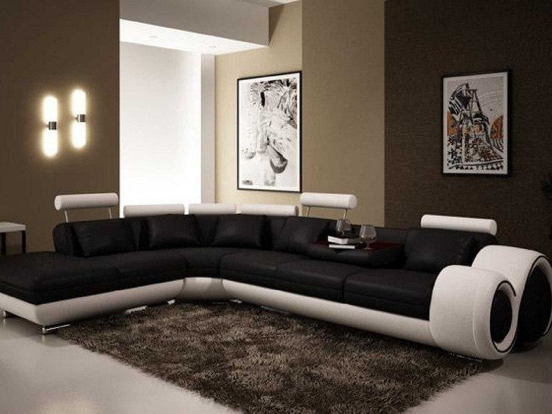 Extra Large Leather Sectional