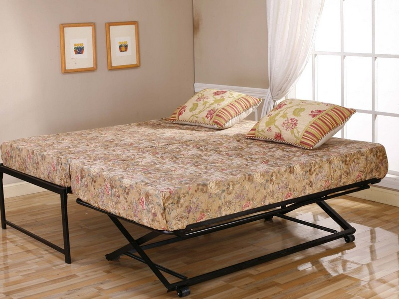 Extra Long Twin Bed Frame With Trundle